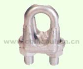JIS TYPE DROP FORGED WIRE ROPE CLIP H.D.G.