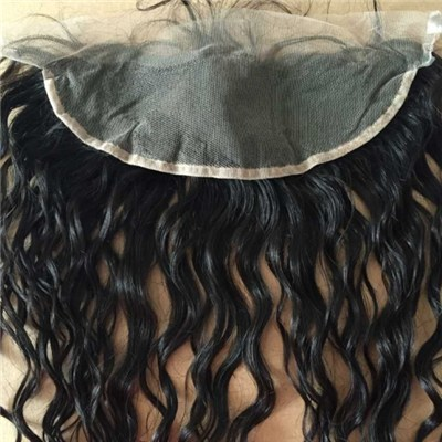Human Hairfull Frontal Lace Closure 13x4