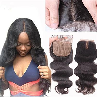 Virgin Hair Silk Base Free Part Closure