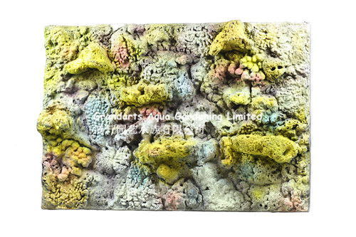 Marine background board aquarium background