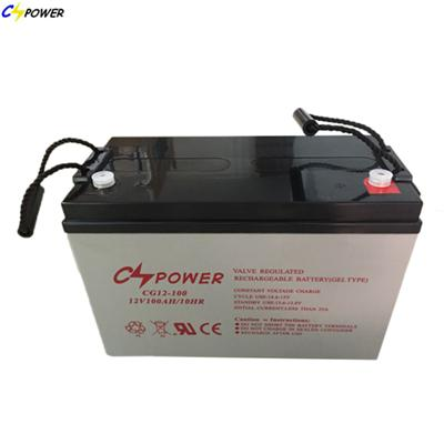 Deep Cycle Solar Gel Battery 12V100Ah