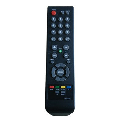 China Remote Control Factory SPT007F LCD TV remote Control