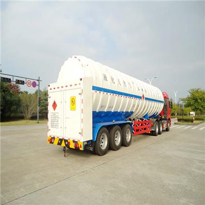 Cryogenic LNG Tank Semi-trailer