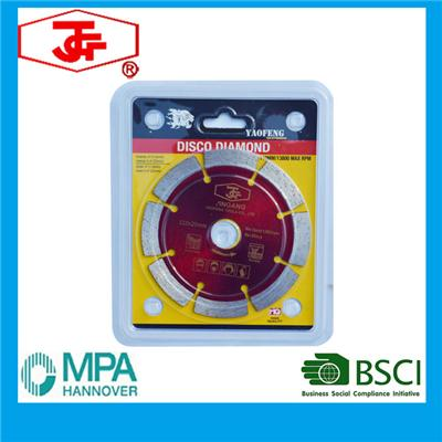 110mm Cold Pressed Sintered Segmented Saw Blade