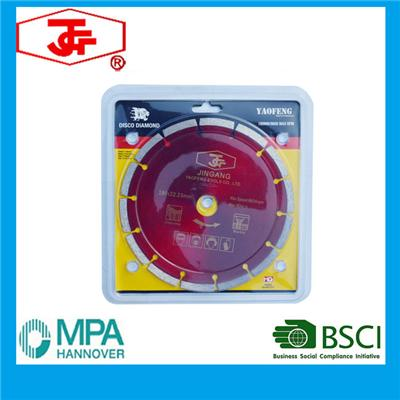 180mm Segmented Saw Blade Cold Pressed