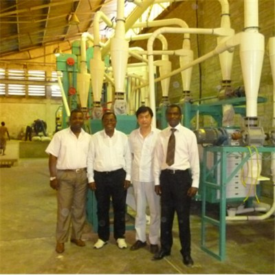 Congo Maize Flour Mill 30T Per D
