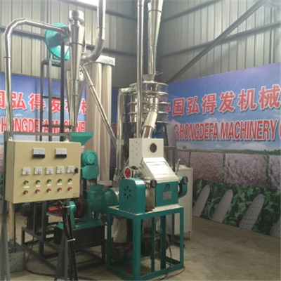 Maize Mill Machine Kenya 5T Per D
