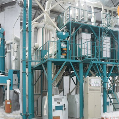 Namibia Maize Flour Machine 60T Per D