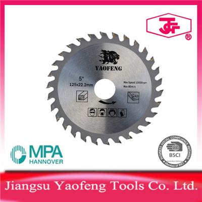 125mm 30 Tooth Tct Saw Blade