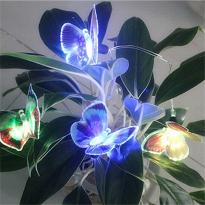 Home Battery Operation Color Mini Butterfly LED Lights (BC309BF)