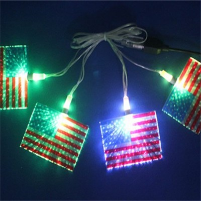 USB LED Decoration Light Chain Flag Party Decoration (BC310F)