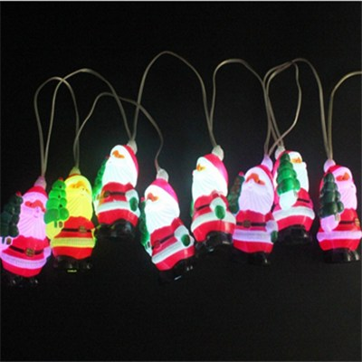 USB Christmas Decorations Santa Led Battery Light Chain (BC310S)