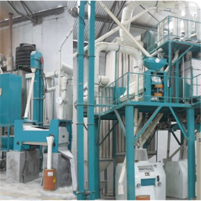 Uganda Corn Flour Mill Machine 50T Per D