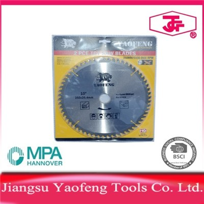 250mm 60 Tooth Tct Saw Blade