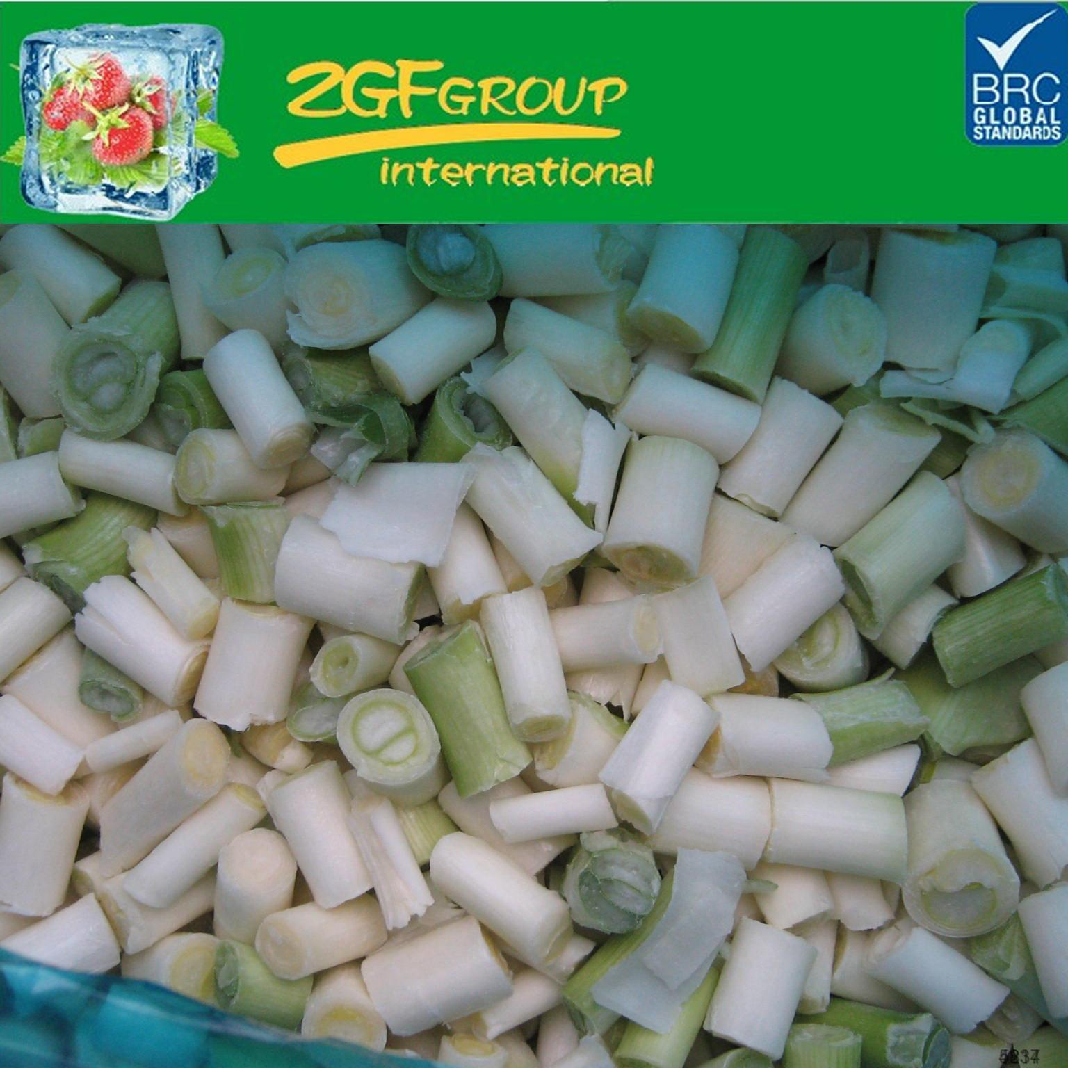frozen iqf young garlic