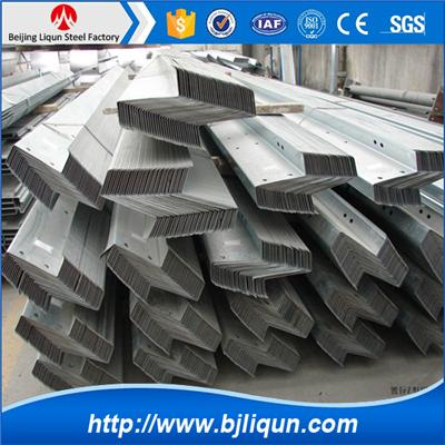 Galvanized Z Section Steel