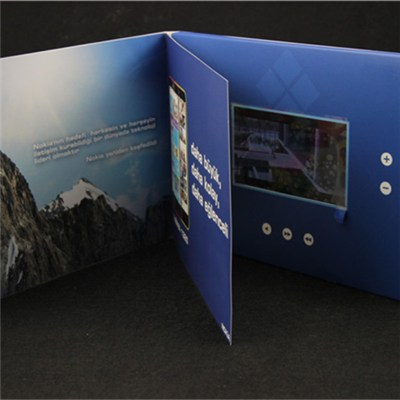 Advertising LCD Video Monitor