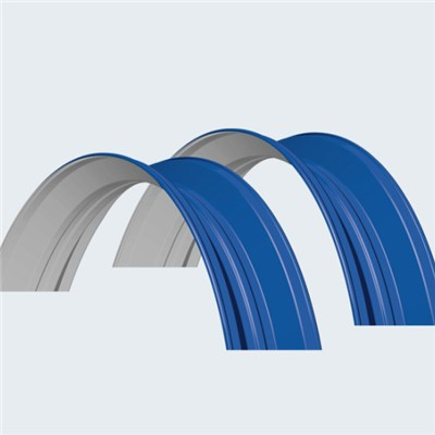 Arched Steel Sheeting