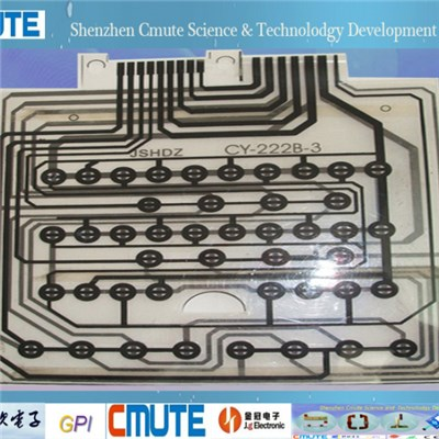 0.125 Mm PET Flex Printed Circuit GPI-FC-001