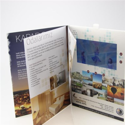 Hardcover 7 Video Greeting Card