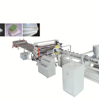PE PP ABS Thick Board Production Line PE PP ABS