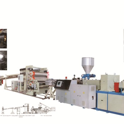 PVC Mono Or Multi Layer Sheet Production Line