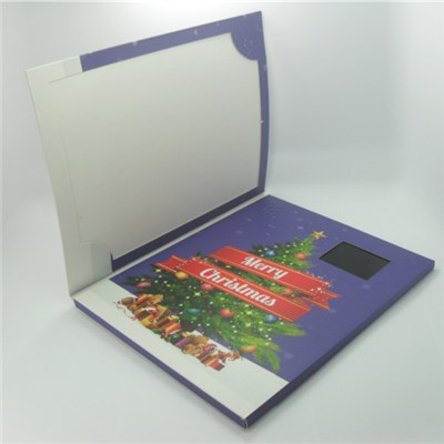 Name Card Size Video Greeting Card