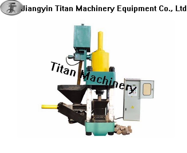 metal chips briquette making machine