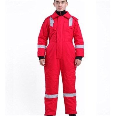 FR Winter Coverall With Hood