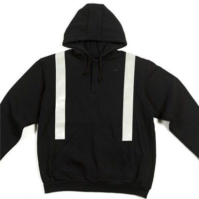 Modacrylic Hoodie With Reflective Tapes