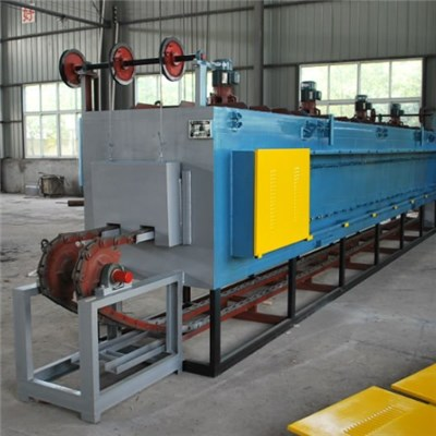 Continuous Chain Plate Type Furnace