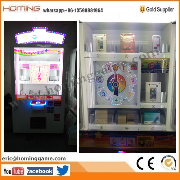 2016 hot sale Spain,Panama Prize lucky star game machine, arcade lucky star game machine (eric@hominggame.com)