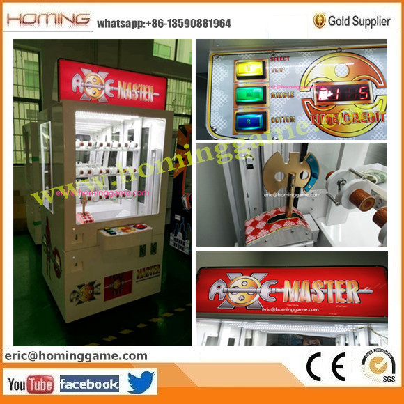 2016 best and NO.1 hot sale prize game machine - Axe Master Game Machine (eric@hominggame.com)