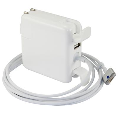 45W Power Adapter Magsafe 2 With USB Charger