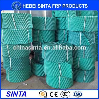 Pvc Film Fill Packing For Round Cooling Tower