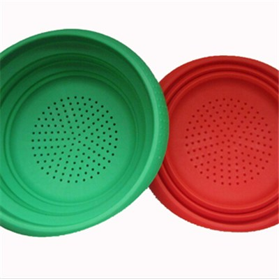 Foldable Silicone Strainer