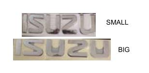 For Isuzu 600P Truck Mark