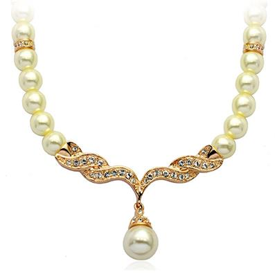 Artificial Pearl Necklace