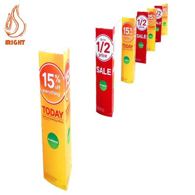 Outdoor Advertising Printed Correx Bollard Cover