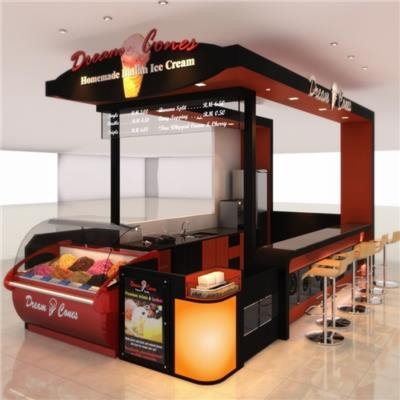Indoor Ice Creem Kiosk