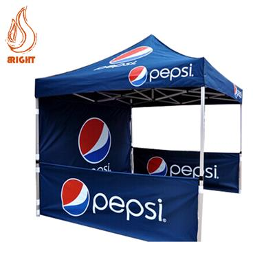 Aluminum Pop Up Advertising Gazebo Will Wall
