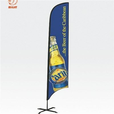 Advertising Beach Feather Flagbanner