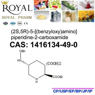 (2S,5R)-5-[(benzyloxy)amino]piperidine-2-carboxamide