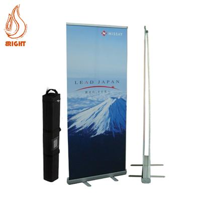 Aluminum Roll Up Stand Banner For Advertising