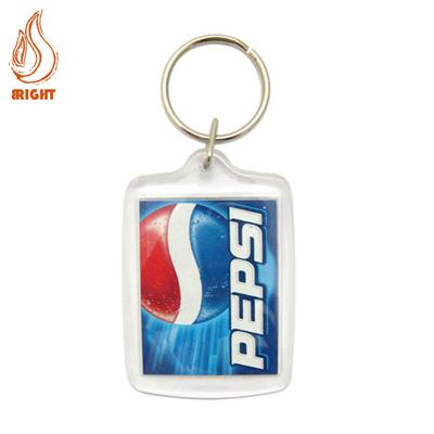 Best Selling Custom Logo Plastic Key Chain