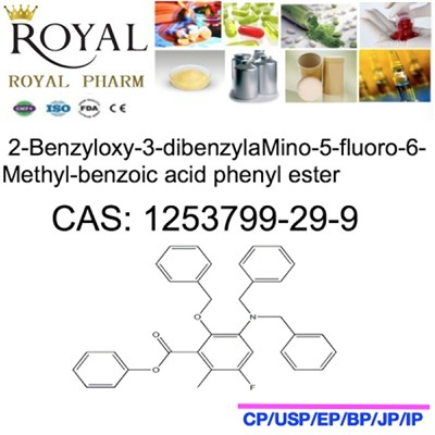 2-Benzyloxy-3-dibenzylaMino-5-fluoro-6-Methyl-benzoic Acid Phenyl Ester