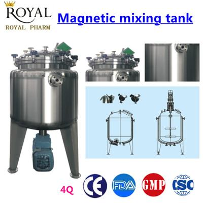 Solution Mixing Tank