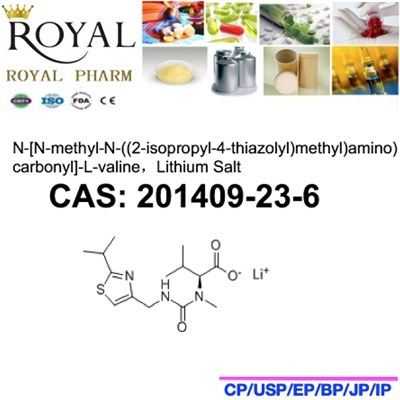 N-[N-methyl-N-((2-isopropyl-4-thiazolyl)methyl)amino)carbonyl]-L-valine,Lithium Salt