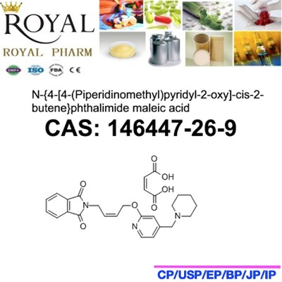 N-{4-[4-(Piperidinomethyl)pyridyl-2-oxy]-cis-2-butene}phthalimide Maleic Acid
