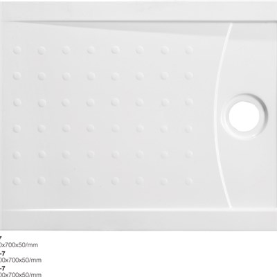 Shower Tray With Solid Surface